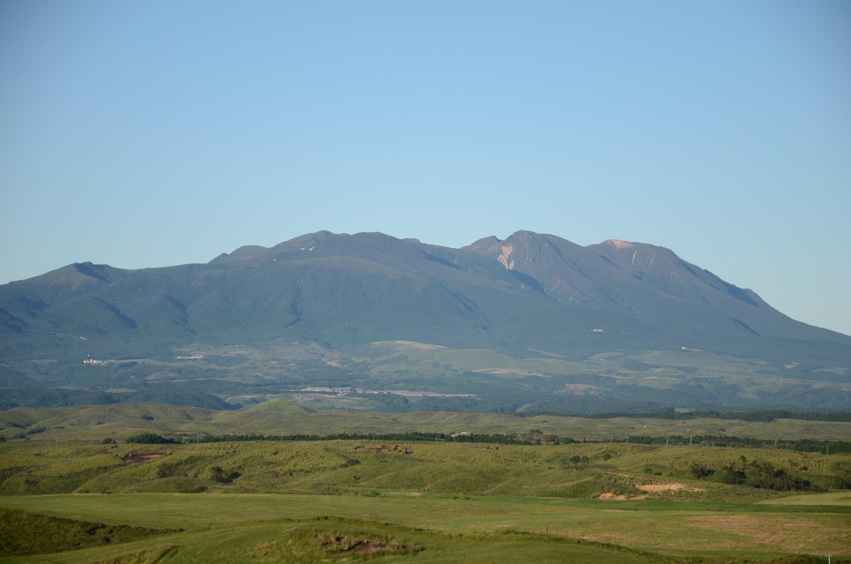 久住高原から見たくじゅう連山