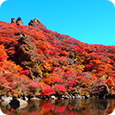 Mt.Taisen and Oike pond